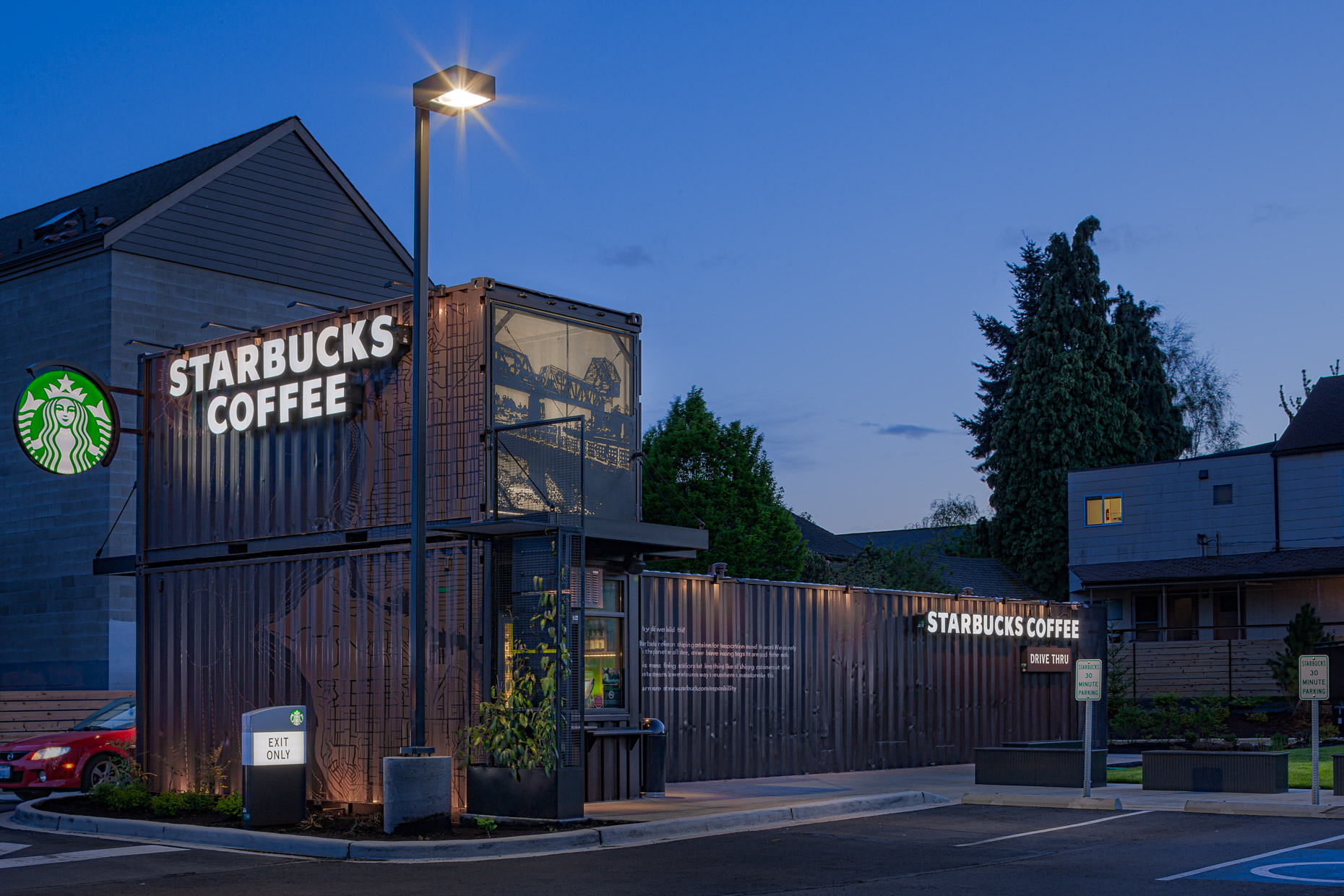 Container Starbucks Seattle